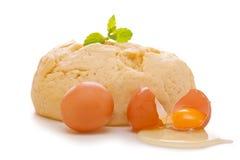Fresh yeast dough Stock Photo
