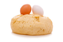 Fresh yeast dough Royalty Free Stock Photos