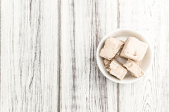 Fresh Yeast (selective focus) Royalty Free Stock Photography