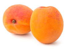Fresh Yellow Apricot Royalty Free Stock Photos