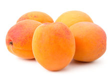 Fresh Yellow Apricot Stock Images