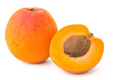 Fresh Yellow Apricot Royalty Free Stock Photo