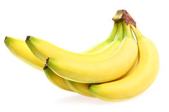 Fresh yellow banana Royalty Free Stock Photo