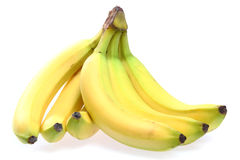 Fresh yellow banana Stock Photography