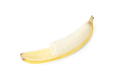 Fresh yellow banana Royalty Free Stock Image