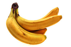 Fresh yellow banana Royalty Free Stock Images