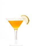 Fresh yellow cocktail Stock Image