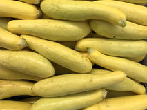 Fresh Yellow garden vegetables make a Squash Background Royalty Free Stock Photography