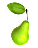 Fresh Yellow Green color Pear. Foods and Dishes Series. Stock Photography