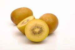Fresh yellow kiwior gold kiwi Royalty Free Stock Photo