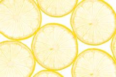 Fresh yellow lemon background Stock Photography