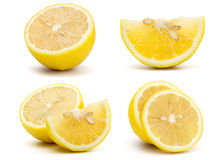 Fresh Yellow Lemon Stock Photos