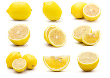 Fresh Yellow Lemon Stock Photo