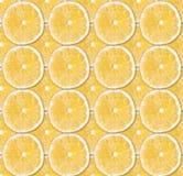 Background of fresh yellow lemon slices. Seamless pattern. Close up. Studio photography royalty free stock photos