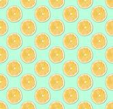 Background of fresh yellow lemon slices. Seamless pattern. Close up. Studio photography stock images