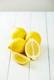 Fresh Yellow Lemons Stock Photos