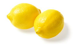 Fresh yellow lemons Royalty Free Stock Photo