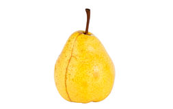 Fresh yellow pear Stock Images