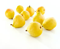 Fresh yellow pears Stock Photo