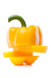 Fresh yellow pepper Stock Image