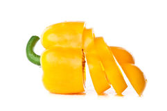 Fresh yellow pepper Stock Images