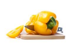 Fresh yellow pepper Royalty Free Stock Photo