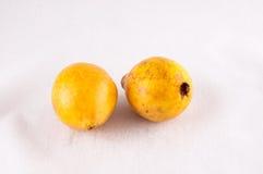 Fresh Yellow Ripe Maracuya Royalty Free Stock Photos