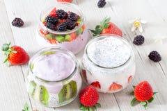Fresh Yogurt Royalty Free Stock Image