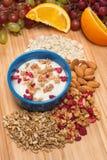 Fresh yogurt breakfast Royalty Free Stock Photo