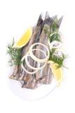 Fresh young herring Royalty Free Stock Photo