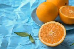 Fresh yummy oranges