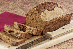 Fresh zucchini bread Royalty Free Stock Photography