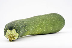 Fresh zucchini isolated Stock Image