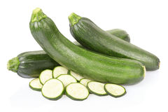 Fresh zucchini sliced Royalty Free Stock Photography