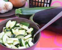 Fresh zucchini Stock Photos