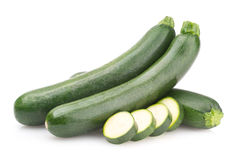 Fresh zucchini Royalty Free Stock Image