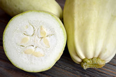 Fresh zucchini Royalty Free Stock Photos