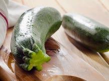 Fresh zucchini Stock Images