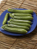 Fresh zucchinis Stock Image
