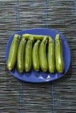 Fresh zucchinis Royalty Free Stock Photos