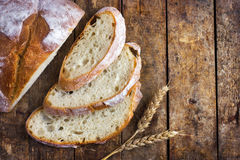 Freshbaked rustic bread Stock Photo