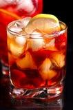 Freshening drink Royalty Free Stock Images
