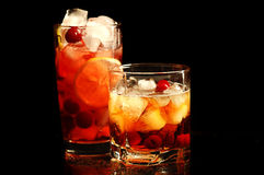 Freshening drink Stock Photo