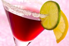 Freshening fruit cocktail Royalty Free Stock Image