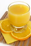 Freshening orange juice Royalty Free Stock Image