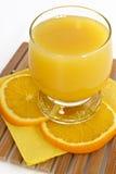 Freshening orange juice Royalty Free Stock Image