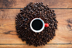 The freshest coffee. Royalty Free Stock Image