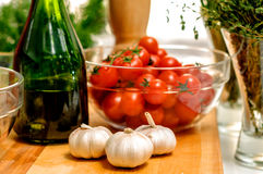 Only the freshest ingredients Stock Photo