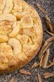 Freshly baked apple cinnamon cake Stock Photography