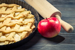 Freshly baked apple pie Royalty Free Stock Image